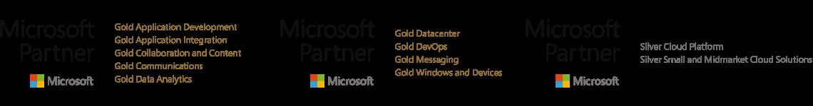 testLogos: Microsoft Partner Stati