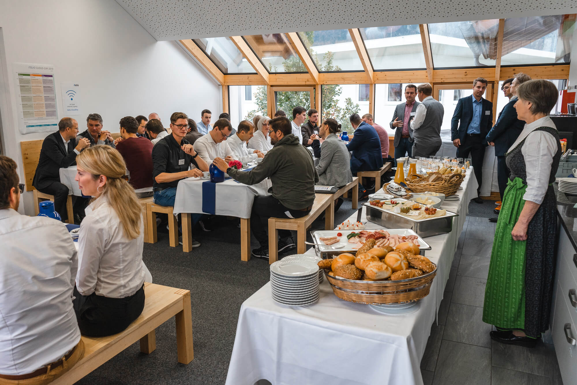 testGruppenfoto Business Breakfast